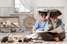 YO HO YO HO!! A #pirate's life for me!   #PirateLife #PirateKids #Imagination #Storymakery Pirate Kids, Never Grow Up, My Childhood, Pirates, Captain Hat, Two By Two, Hats, Imagination, Happiness