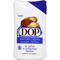 Douche crème Douceurs d'Enfance, Authentique Madeleine, pH neutre, sans paraben