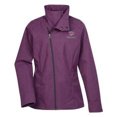 A soft shell jacket with promotional edge!