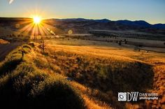 Sunset near the Deschutes outside of Madras Oregon To see more, visit Dan Webb Photography / www.danwebbphotography.com #danwebbphotography