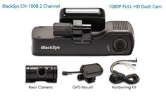 BlackSys CH-100B 2 Channel 1080P FULL HD Front and Rear Pro Wide Angle Dashboard Recorder | Dash Cam With G-Sensor + Up to 128gb Memory | Car Parking Mode | Wifi App #BlackSysCH100B #blacksysch100breview #blacksysch-100b2channel #bestdashcam 2017