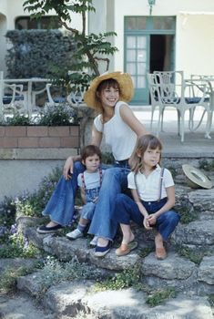 Jane Birkin Pictures With Children--- need one with the twins
