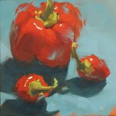 """Daily+Paintworks+-+""""HOT+STUFF"""" Helen+Cooper"""