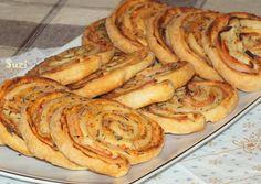 Design by Suzi: Šunkové slimáky z lístkového cesta Apple Pie, Parties, Breakfast, Desserts, Food, Hampers, Fiestas, Tailgate Desserts, Meal