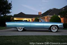 1966 El Dorado - I was in Dallas & had a friend with this car.  He had baby blue suede put on the dash.  Was pretty!