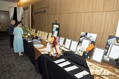 """""""puttin on the Ritz"""" foyer auction tables"""