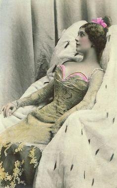Lina Cavalieri, Famous Belle Epoque Italian Opera Star Stunning Glamour Diva…