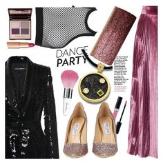"""""""Anastazio-dance party"""" by anastazio-kotsopoulos ❤ liked on Polyvore featuring Anastazio, Dolce&Gabbana, LUISA BECCARIA, Charlotte Tilbury, Dsquared2, Christian Dior, Jimmy Choo and Guerlain"""