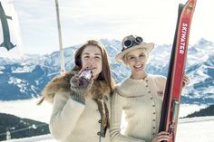 Fresh! Noch einmal ein Foto vom vergangenen #Nostalski in #ZellamSee! #einkehrschwung, #skihasen, #skibunny, #skihasendoping, Brille: #luistrenker, Foto: @_camwork_ , @_christianemaria_