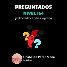 ¡Chabelita Pérez Mena ha subido al Nivel 164 en Preguntados!