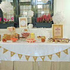 Candy bar, boda A&P, Santander
