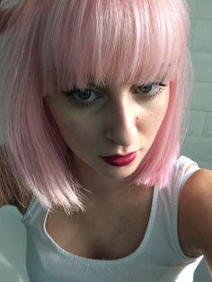 Pink Hair - Bleach London Rose