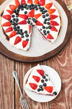 berry fruit pizza pie ohsweetbasil.com