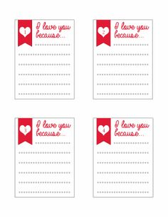 Family Home Fun: Project Life Valentine's Day Cards