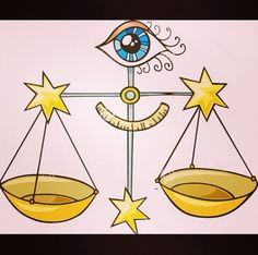All seeing eye of balance