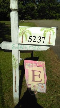 My new old mailbox i painted