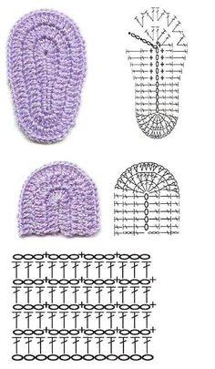 Best 12 very easy baby booties crochet pattern – stitch scheme Baby Boy Knitting Patterns, Crochet Baby Dress Pattern, Crochet Baby Boots, Baby Girl Crochet, Booties Crochet, Crochet Baby Clothes, Crochet Stitches Patterns, Baby Booties, Baby Knitting