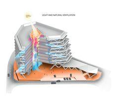 Imagem 13 de 15 da galeria de One Airport Square / Mario Cucinella Architects. Isométrica