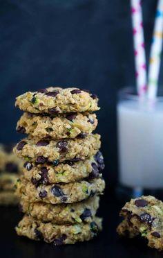 Haferflocken Schoko Cookies - vegan & glutenfrei
