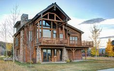 Experience the relaxing charm and adventurous appeal of Idaho from one of our custom designed luxury log cabins at Teton Springs. #cozycabins #tetonsprings #idaho
