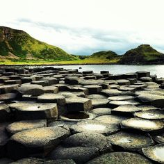 Ireland landscape: Giant's Causeway, Norn Iron.... went here in may 2012 for my graduation gift.... AWESOME!!