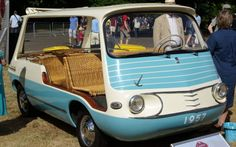 1957 Fiat 600 Multipla Marinella -