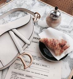 My lunchdate Lady Dior saddle 💛 Dior Handbags, Best Handbags, Lady Dior, Everything Designer, Handbag Display, Dior Saddle Bag, Fashion Bags, Fashion Women, Fashion Clothes