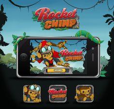 Rocket Chimp on Behance