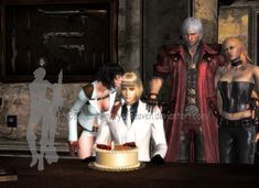 Happy 888 Birthday, Lord! by AngelMaryOfHeaven  神さま  Lady Mary, God s Wife, Lord , Deus , Capcom , Hideaki Itsuno, デビルメイクライ DMC レディ デビルハンター 主 卿 大天使 刺客 卿 , Lady s Partner, Lord OC belongs to Heaven_s_Hitman x-lord-x VVhiteLord ダンテ  トリッシュ