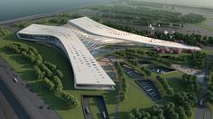 Hong Kong Boundary Crossing Facilities - Competition Entry - China