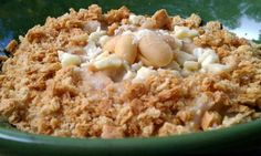 Slow Cooker White Chocolate Peanut Butter Pie Oatmeal