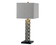 I need me a lamp. This one's kinda purdy. Luxury Home Decor, Luxury Homes, Element Table, Side Table Lamps, Contemporary Table Lamps, Bedroom Lamps, Lampshades, Home Accents, Accessories Shop