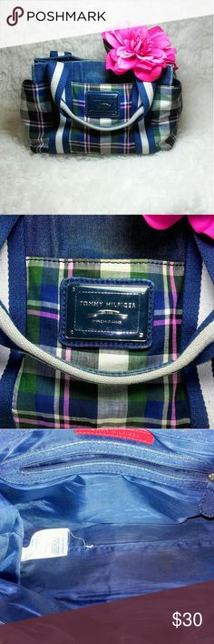 Tommy Hilfiger Purse Cute plaid Tommy purse. Loved but lots of life left! Tommy Hilfiger Bags