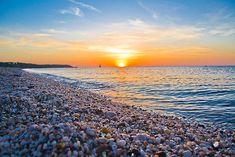 rocks and sky Cedar Beach, Long Island, NY