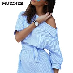 =>>Cheap2016 Fashion one shoulder Blue striped women dress shirt Sexy side split Elegant half sleeve waistband OL girls beach dresses2016 Fashion one shoulder Blue striped women dress shirt Sexy side split Elegant half sleeve waistband OL girls beach dressesbest recommended for you.Shop the Lowest P...Cleck Hot Deals >>> http://id739061824.cloudns.pointto.us/32722743730.html images