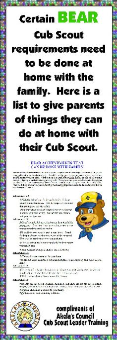 Here is a PRINTABLE EDITABLE document you can give out to the families in your Den. This site has a lot of Blue Gold Ideas, Tracking Sheets lots of other great Cub Scout Ideas compliments of Akela's Council Cub Scout Leader Training. Cub Scout Law, Cub Scouts Wolf, Tiger Scouts, Scout Mom, Cub Scout Skits, Cub Scout Games, Cub Scout Activities, Camping Activities, Family Activities