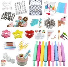 Mixed Cake Cookie Cupcake Decorating Fondant Mould Sugarcraft Cutters Tools #T in Crafts, Cake Decorating | eBay