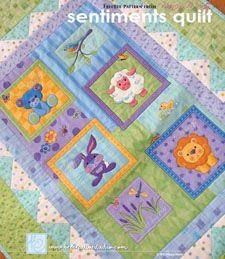 Secret Garden Quilt Pattern - Free | Gardens, Quilt patterns free ... : baby quilt applique patterns - Adamdwight.com