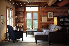 Sean & Kristen's Warm Rustic Style in Seattle House Call | Apartment Therapy