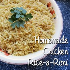 Homemade chicken rice a roni you will never open another box of make rice a roni from scratch in the same amount of time as the ccuart Image collections