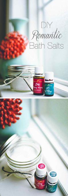 Romantic Bath Salts|DIY Bath Salts.