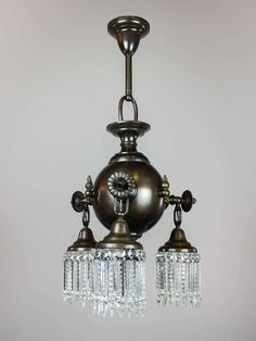 rare 1901 antique the humphrey hanging store shop gas lantern lamp