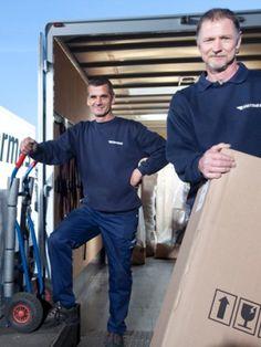 2-Mann-Handling mit ausgezeichnetem Service | Hermes