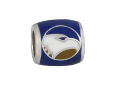 """Wear your original Teagan Co. Georgia Southern University beads on hoop earrings, necklaces, or build your own bracelet. Our beads fit most Pandora-style bracelets and each can be worn individually or in combinations. Striking in … <div class=""""clear""""><a href=""""http://www.teaganco.com/product/georgia-southern-eagle-on-blue-bead/"""" class=""""tcx_button"""">Continue reading</a></div>"""