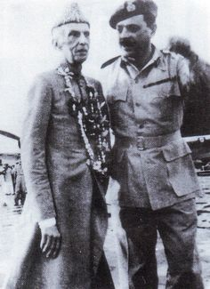 Jinnah with Ayub Khan in Dhaka 1948 History Of Pakistan, Pakistan Zindabad, Pakistan Travel, Pakistan Politics, Sufi Saints, The Beautiful Country, Great Leaders, Muhammad Ali, Historical Pictures