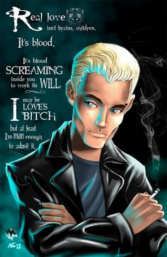 Spike Buffy the Vampire Slayer by RadiantGrey on Etsy, $9.99