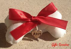 Porta alianzas personalizado para perrito www.giftseventos.es