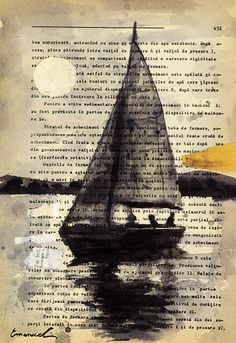 Print Art Ink Drawing Art Painting Illustration Gift Old by rcolo, $10.00