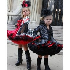 Vanity Fair Couture Pettiskirt Outfit ~ From the Couture Collection by Cilla Sebastian, this set is made of luxurious fabrics and was featured on the cover of Beverly Hills Child Magazine.