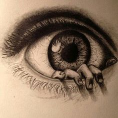 drawings of creepy eyes Scary Drawings, Amazing Drawings, Pencil Art Drawings, Beautiful Drawings, Drawing Sketches, Amazing Art, Sketching, Interesting Drawings, Beautiful Pictures